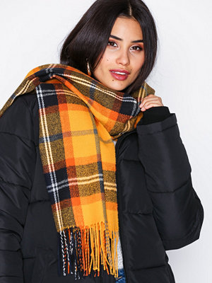 Halsdukar & scarves - NLY Accessories Checked Scarf