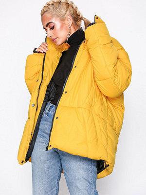 Missguided gul bomberjacka Ultimate Oversized Padded Jacket Mustard