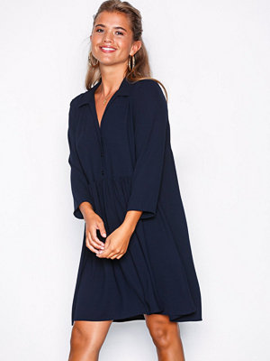 NLY Trend Button Shift Dress Navy