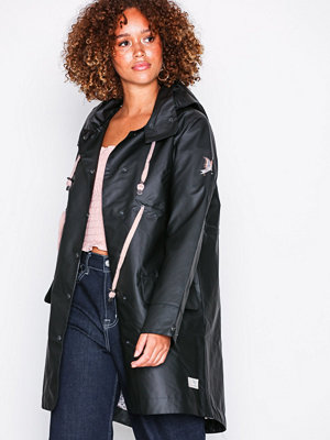 Odd Molly free range rainjacket Almost Black