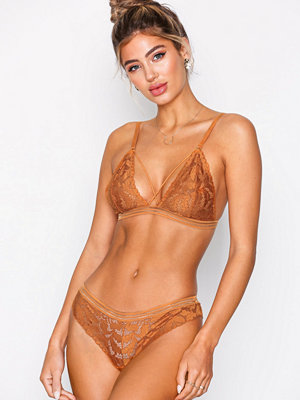 NLY Lingerie Never Forget Thong Golden Yellow