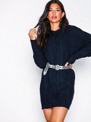 Polo Ralph Lauren Aran Long Sleeve Casual Dress Navy