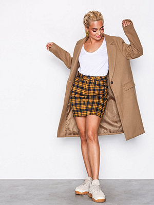 New Look Single Breasted Formal Coat Camel