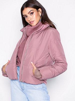 Jacqueline de Yong Jdyerica Short Padded Jacket Otw Lila