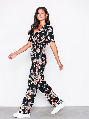 NLY Trend Playful Jumpsuit Blommig