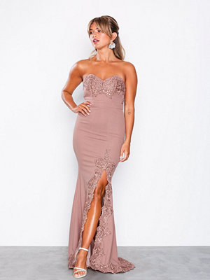 Love Triangle Gala Event Maxi Dress Mauve