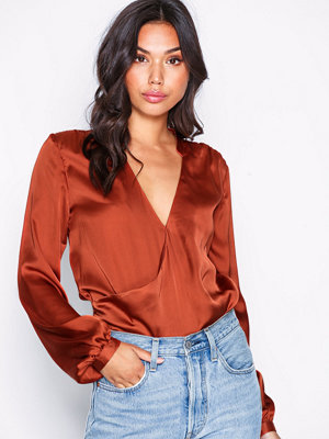 NLY Trend Wrap Balloon Blouse