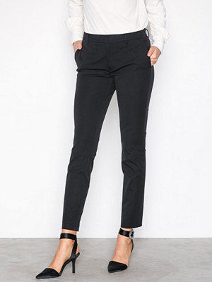 Filippa K svarta byxor Sophia Cotton Stretch Trousers Black