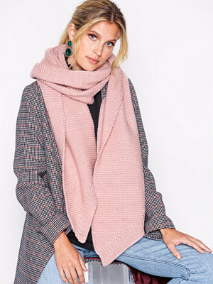 Halsdukar & scarves - Pieces Pcdace Long Wool Scarf Noos Rosa