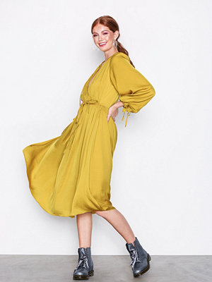 River Island LS Vicky Dress Yellow