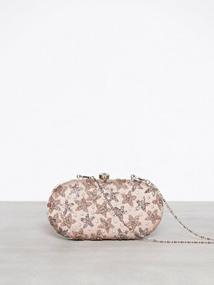 Maya mönstrad kuvertväska Bag With Star Embellishment Taupe