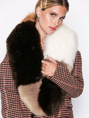 Halsdukar & scarves - NLY Accessories Mixed Long Fur Collar