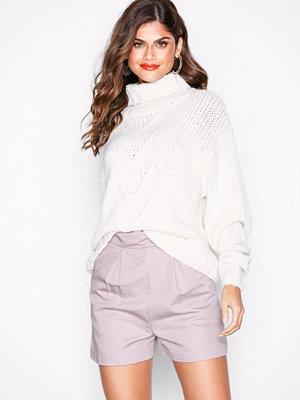 Topshop Scallop Shorts Lilac