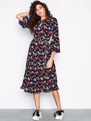 Only onlJENIFFER 3/4 Midi Dress Wvn Svart