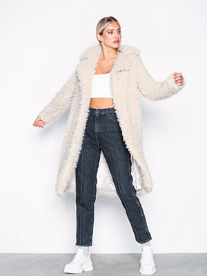 Vero Moda Vmtamar Jayla Long Faux Fur Jacket