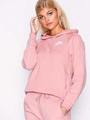 Street & luvtröjor - Nike NSW Hoodie Rosa