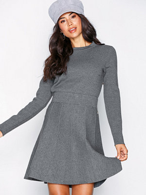 Morris Deauville Knit Skirt Grey