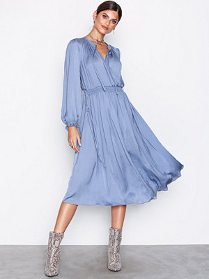 River Island LS Vicky Dress Light Blue