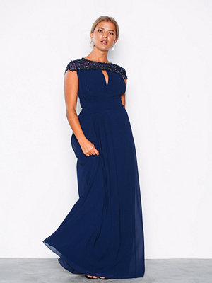 Little Mistress Pearl Maxi Dress Navy