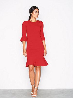 Lauren Ralph Lauren Porcha Casual Dress Red