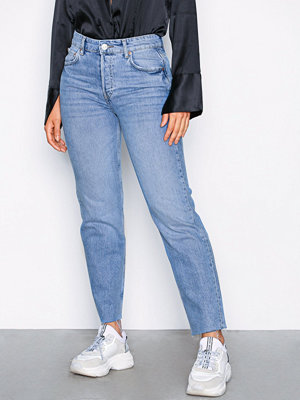 Gina Tricot Sanna staight jeans Light Blue