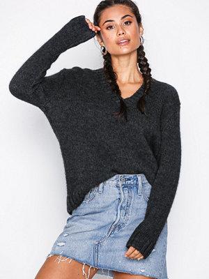 Calvin Klein Jeans Alpaca Blend V-Neck Grey