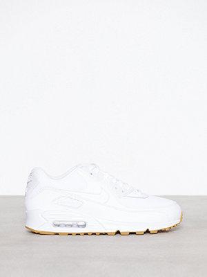 Sneakers & streetskor - Nike Air Max 90 Woman Vit/Brun