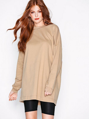 NLY Trend Through The Hood Sweat Beige