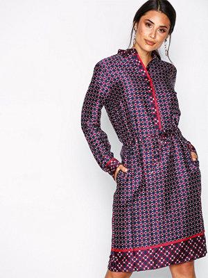 Lauren Ralph Lauren Rossalyn-Long Sleeve-Casual Dress Multi