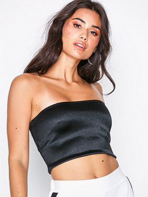 Topshop Disco Bandeau Top Black