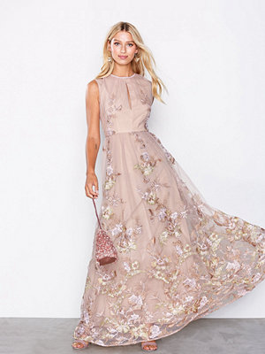 True Decadence Floral Maxi Dress Pink