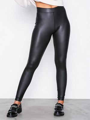 Leggings & tights - Only onlRUBY Pu Legging Noos Jrs