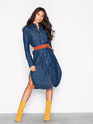 Polo Ralph Lauren Western Casual Dress Navy