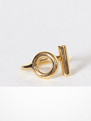 SOPHIE By SOPHIE Circlebar Ring Guld