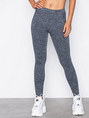 Topshop Logo Sporty Leggings Grey Marl