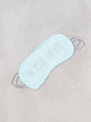 New Look In Your Dreams Eye Mask Light Green