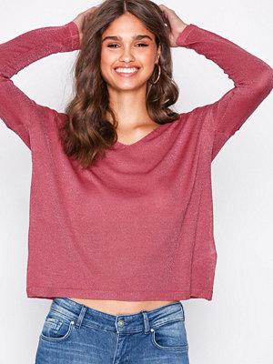 Only onlPISA L/S V-Neck Pullover Knt Noo Rosa