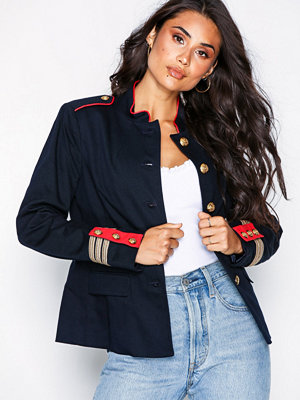 Lauren Ralph Lauren Quanika-Cotton-Jacket Navy