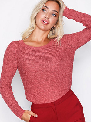 Only onlGEENA Xo L/S Pullover Knt Noos Rose