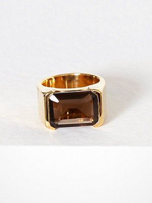 SOPHIE By SOPHIE Emerald-cut Ring Silver