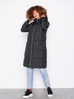 Pieces Pcdalla Padded Coat Svart