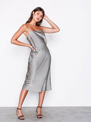 Filippa K Satin Slip Dress Oyster