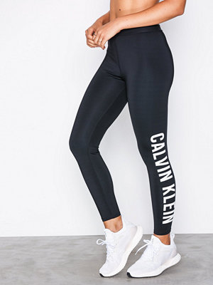 Sportkläder - Calvin Klein Performance 7/8 Tight Logo Leg Svart