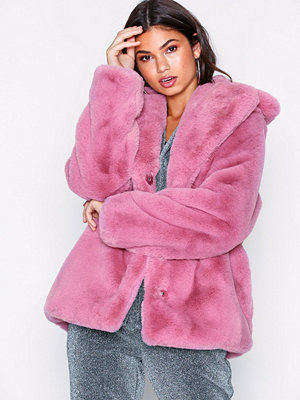 NLY Trend Short Luxury Fur Coat