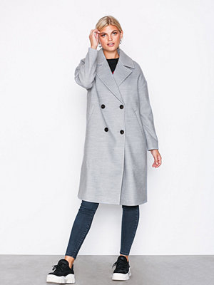 Vero Moda Vmmonday Cala Long Jacket Ki Ljus Grå