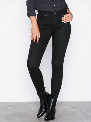 Topshop Black Sidney Jeans Black
