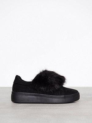 Duffy Faux fur sneaker Svart