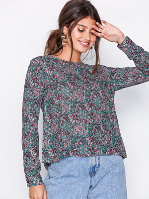 Morris Flora Liberty Blouse / 47 Wine Red / 40 Wine Red