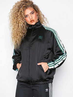 Adidas Originals Satin Track Top Svart