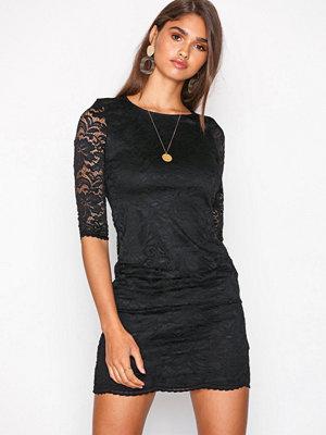 Vero Moda Vmsandra 3/4 Lace Dress Noos Svart